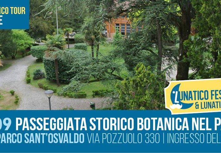 """Il 15 settembre """"Passeggiata storico-botanica nel Parco di Sant'Osvaldo"""""""